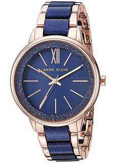 fashion наручные женские часы Anne Klein 1412RGNV. Коллекция Plastic
