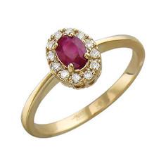 Золотое кольцо 01K616899 Ювелирное изделие