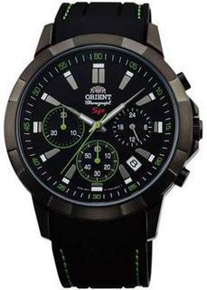 Японские наручные мужские часы Orient KV00006B. Коллекция CHRONOGRAPH