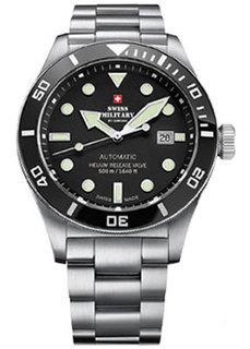 Швейцарские наручные мужские часы Swiss military SMA34075.01. Коллекция Diver Limited Edition