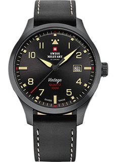Швейцарские наручные мужские часы Swiss military SM34078.08. Коллекция Кварцевые часы
