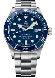 Швейцарские наручные мужские часы Swiss military SMA34075.02. Коллекция Diver Limited Edition