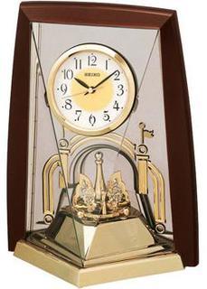 Настольные часы Seiko Clock QXN223BT. Коллекция Интерьерные часы