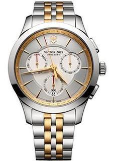 Швейцарские наручные мужские часы Victorinox Swiss Army 241747. Коллекция Alliance