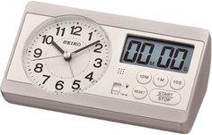 Настольные часы Seiko Clock QHE152SN. Коллекция Настольные часы