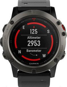мужские часы Garmin 010-01733-01. Коллекция Fenix 5