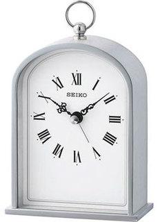 мужские часы Seiko Clock QHE162SN. Коллекция Настольные часы