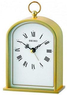 мужские часы Seiko Clock QHE162GN. Коллекция Настольные часы