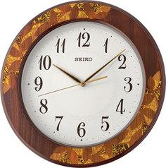 Настенные часы Seiko Clock QXA708BN. Коллекция Настенные часы