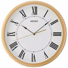 Настенные часы Seiko Clock QXA705GN. Коллекция Настенные часы