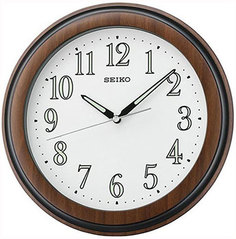 Настенные часы Seiko Clock QXA313BT. Коллекция Настенные часы