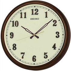 Настенные часы Seiko Clock QXA632BN-Z. Коллекция Настенные часы