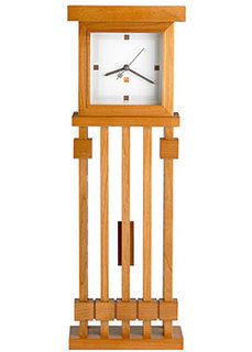 Настенные часы Bulova C3335. Коллекция Frank Lloyd Wright