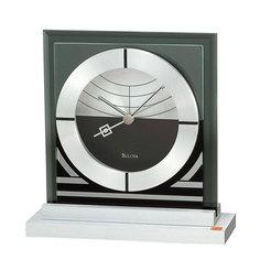 Настольные часы Bulova B7762. Коллекция Frank Lloyd Wright