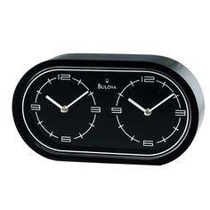 Настольные часы Bulova B2921. Коллекция Офисная коллекция