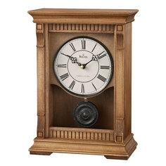 Настольные часы Bulova B7662. Коллекция Каминная коллекция