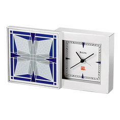 Настольные часы Bulova B7759. Коллекция Frank Lloyd Wright