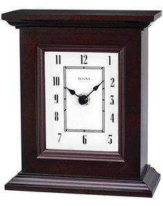 Настольные часы Bulova B1531. Коллекция Настольная коллекция