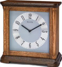 Настольные часы Bulova B1657. Коллекция Настольная коллекция