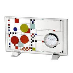 Настольные часы Bulova B7757. Коллекция Frank Lloyd Wright