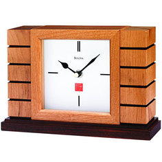 Настольные часы Bulova B1659. Коллекция Настольная коллекция