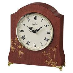 Настольные часы Bulova B1677. Коллекция Настольная коллекция
