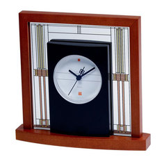Настольные часы Bulova B7756. Коллекция Frank Lloyd Wright