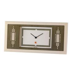 Настольные часы Bulova B7733. Коллекция Frank Lloyd Wright