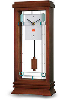 Настольные часы Bulova B1839. Коллекция Frank Lloyd Wright