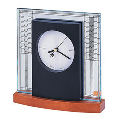 Настольные часы Bulova B7750. Коллекция Frank Lloyd Wright