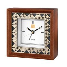Настольные часы Bulova B7766. Коллекция Frank Lloyd Wright