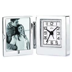 Настольные часы Bulova B6843. Коллекция Коллекция рамок