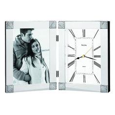 Настольные часы Bulova B1254. Коллекция Коллекция рамок