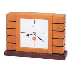Настольные часы Bulova B1859. Коллекция Каминная коллекция