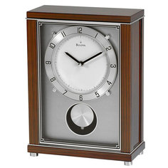 Настольные часы Bulova B7654. Коллекция Каминная коллекция