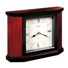 Настольные часы Bulova B1881. Коллекция Каминная коллекция