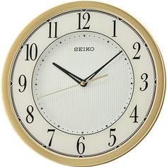 Настенные часы Seiko Clock QXA726GN. Коллекция Настенные часы