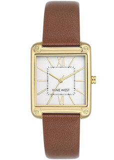 fashion наручные женские часы Nine West 2116SVBN. Коллекция Female Collection