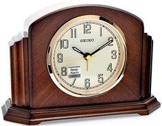Настольные часы Seiko Clock QXE043BN-Z. Коллекция Настольные часы