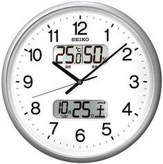 Настенные часы Seiko Clock QXL013SN-Z. Коллекция Настенные часы