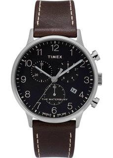мужские часы Timex TW2T28200VN. Коллекция The Waterbury Classic Chronograph