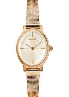 женские часы Timex TW2R94400VN. Коллекция Milano Oval