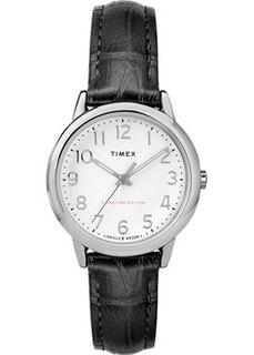 женские часы Timex TW2R65300RY. Коллекция Easy Reader Signature