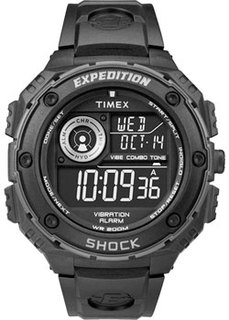 мужские часы Timex T49983RM. Коллекция Expedition Vibe Shock