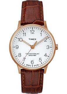 женские часы Timex TW2R72500VN. Коллекция The Waterbury