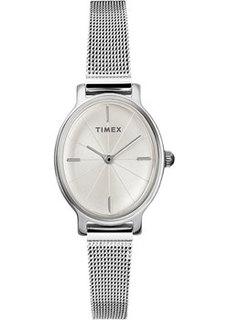женские часы Timex TW2R94200VN. Коллекция Milano Oval