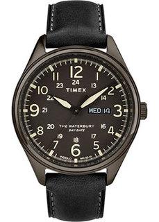 мужские часы Timex TW2R89100VN. Коллекция The Waterbury Traditional