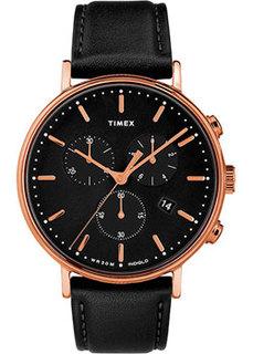 мужские часы Timex TW2T11600VN. Коллекция Fairfield Chronograph