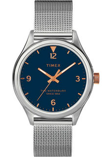 женские часы Timex TW2T36300VN. Коллекция The Waterbury Traditional