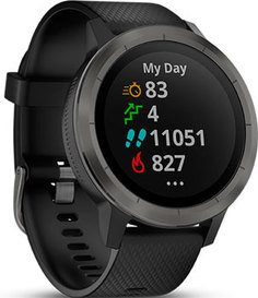 мужские часы Garmin 010-01769-12. Коллекция Vivoactive 3